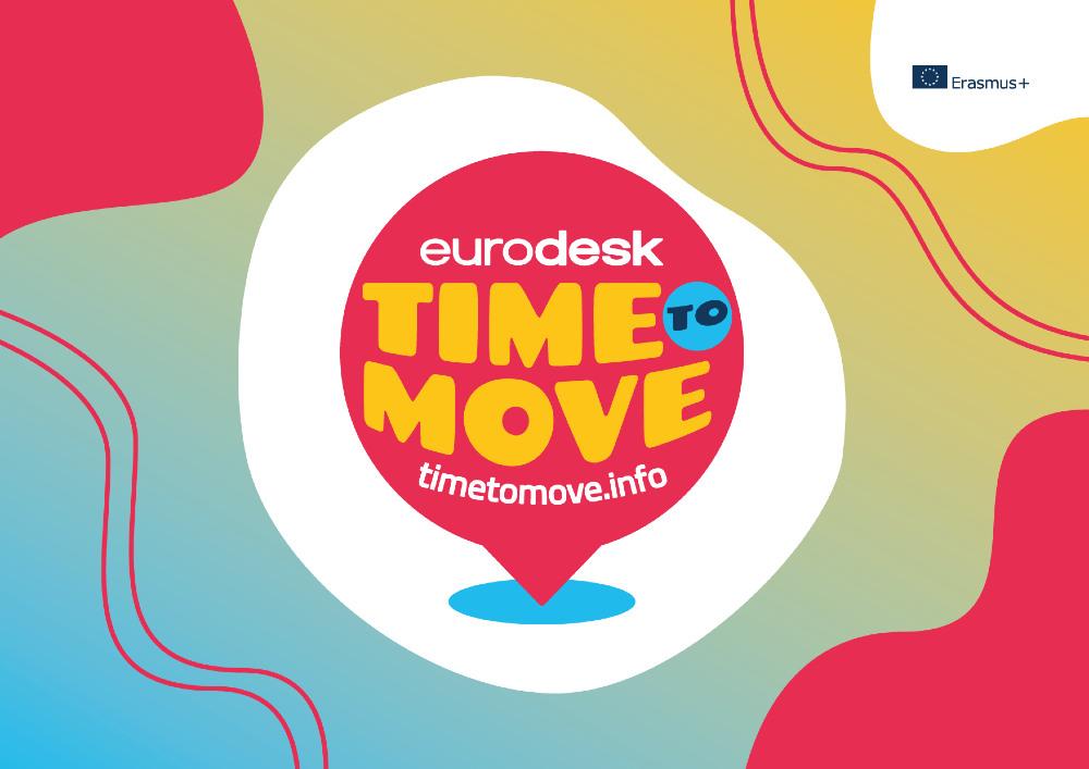 """Eurodesk kampaņa """"Time to Move"""" piedāvā iespējas jauniešiem"""